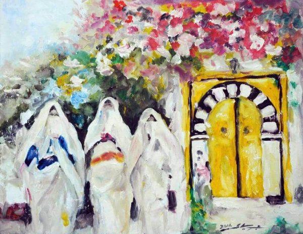 Décorer avec des tableaux et des peintures à l'huile d'après photo